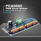 PCA9685 12 bit 16 Channel PWM Servo Motor Driver I2C Module for Arduino Robot Interface Raspberry PI Shield LED Indicator