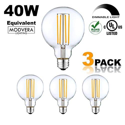 Clear Globe Led Light Bulbs - 2