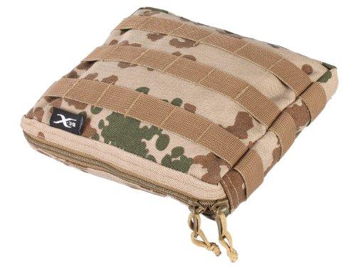 BE-X Stapelbare Tasche -Shingle gross- mit MOLLE, für MOLLE - BW tropentarn