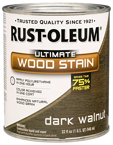 rk Walnut Ultimate Wood Stain, 1 quart, 2 pint Can (Pack of 2) ()