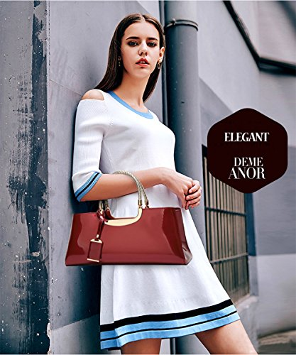 Braided Handbag Strap Navy Charms with Handle Blue Burgundy Shoulder Women Long Coolives White Golden q1xZgCw