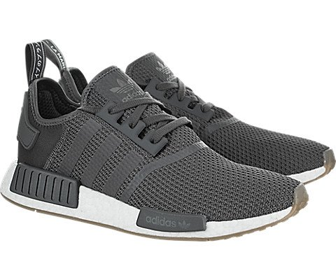 adidas Originals NMD_R1 Shoe Men's Casual 9 Grey-Black