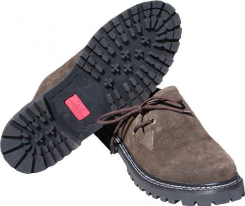 Trachten Gummisohle Trachtenschuhe Haferlschuhe Braun Schuhe Lederschuhe q0IEwrI
