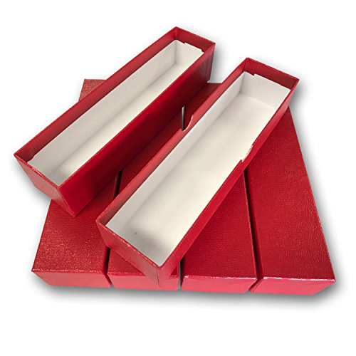 LOT OF 5 - SINGLE ROW 2x2 STORAGE BOXES For Coins in Plastic, Vinyl, Paper and Cardboard Flip Holders ()
