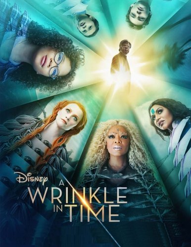 A Wrinkle In Time: coloring book with high quality exclusive images based on Disney film 2018