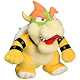 Little Buddy Super Mario Bros 13-Inch Large Bowser Plush