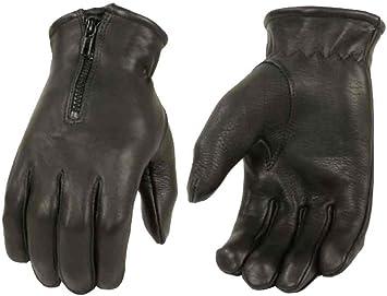 Driving Leather Gloves Men/'s Deerskin Black
