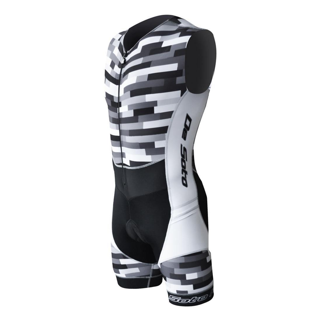 DeSoto Men's Riviera Triathlon Suit Small) De Soto RTT1