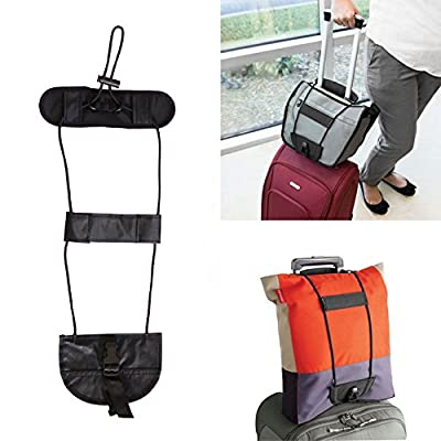 b116850fb615 delicate Disconano Add A Bag Strap Travel Luggage Carry On Bungee Strap