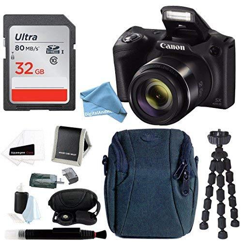 Cheap Canon PowerShot SX420 IS 20 MP Digital Camera w/ Sony 32GB SD Card & DigitalAndMore PRO Accessory Bundle
