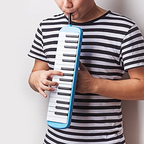 Frunsi 32 Key Melodica Instrument with Piano Keyboard Style, Easy to Play for Adult Children, Suit for Music Learning, Playing, Party Fun with Carry Bag - Image 5