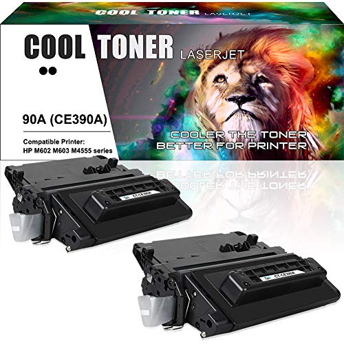 Cool Toner Compatible Toner Cartridge Replacement for HP 90A CE390A Toner HP M602 M603 M4555 HP Laserjet Enterprise 600 M601n M601dn M602n M602dn M602x M603n M603dn Laserjet M4555 Series Printer- - Laserjet 600 Hp Enterprise M602n