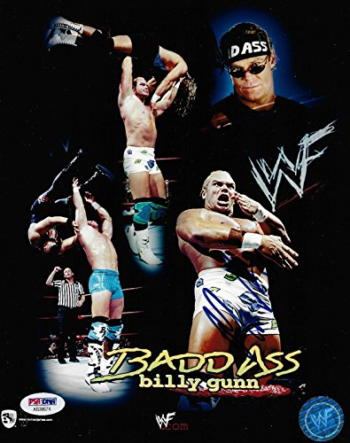 mr-bad-ass-billy-gunn-signed-wwf-wwe-8x10-photo-coa-dx-picture-autograph-psa-dna-certified-autograph