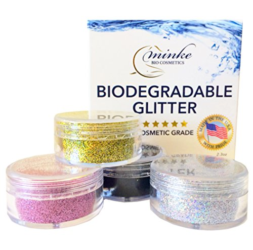 Minke Biodegradable Glitter (Multi Color Combo)