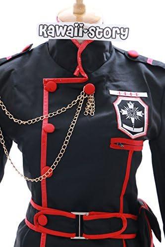 MN-15 Lenalee Lee D.Gray-Man Hollow schwarz Uniform Cosplay Set Kostüm