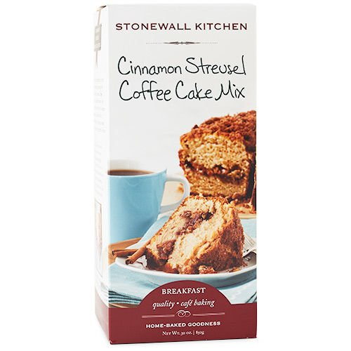 (Stonewall Kitchen Cinnamon Streusel Coffee Cake Mix, 30 Ounce)