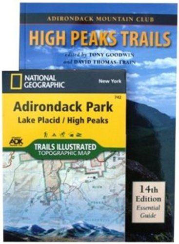High Peaks Trails Map Pack Adirondack High Peaks Map
