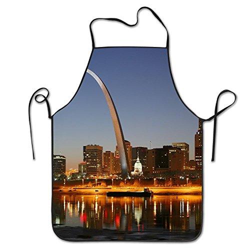 St Apron Louis - XCGWA St. Louis Deluxe Aprons Personalized Printing Kitchen Apron