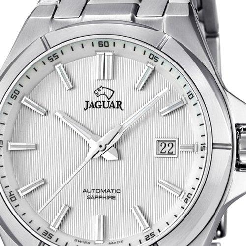 Jaguar J669/1 - Reloj de caballero automático swiss made, cristal zafiro y cadena de acero: Jaguar: Amazon.es: Relojes