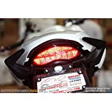 Ducati Monster 2014 2018 797 821 1200 2017 + Supersport Sequential LED Tail Light Smoke