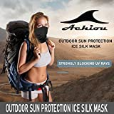 Achiou Neck Gaiter Face Scarf Mask-Dust, Sun