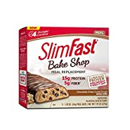 SlimFast Bakeshop, Meal Replacement,With 15g Of Protein & 5g Fiber