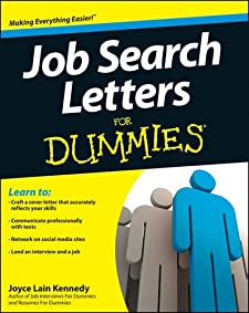 Job Search Letters For Dummies (For Dummies (Career/Education)) Kennedy