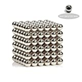 Magnetic Ball, Pw Magnetic Sculpture Toys for Intelligence Development and Stress Relief (5mm and 222 Balls) (Magnetic Ball(5mm and 222 Balls))