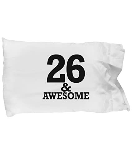 Amazon DesiDD Gifts 26 Year Old Man Pillow Case