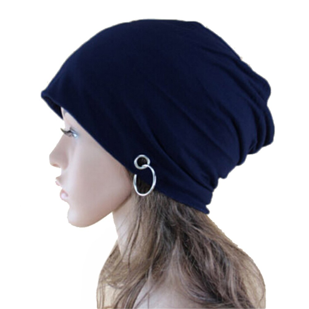 Amazon.com  Eforstore Hot Fashion Women Men Slouchy Knit Beret Beanie Hat  Cap Beanie Thin Hip-hop Skull Cap with Ring Lacing Derect  Sports   Outdoors 2fbb24a9f9