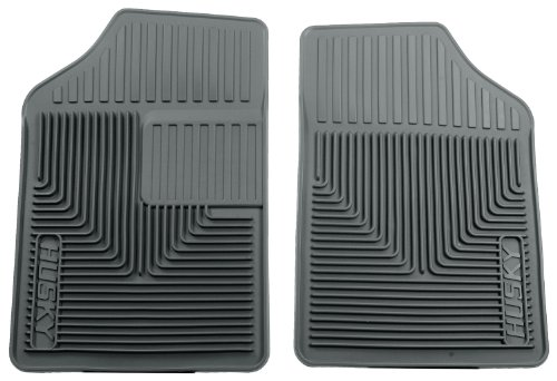 Husky Heavy Duty Floor Mats, 2pc Front Mats, Color: Gray 51052