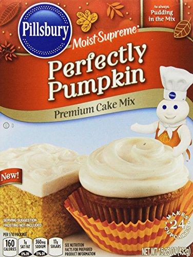 (Pillsbury Moist Supreme Perfectly Pumpkin Premium Cake Mix, 15.25 Ounce)