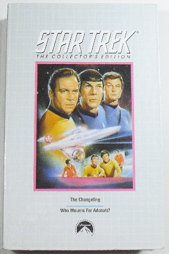 The Changeling and Who Mourns for Adonais VHS (Star Trek Collector's Edition - Men Naked Lebanon