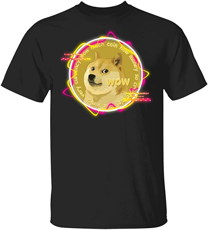 Amazon.com: Cute Dogecoin Much Wow Doge Cryptocurrency ...