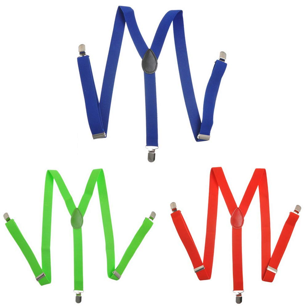 39 3//8 x2 Robluee Jungen Hosentr/äger Multicolore 1 100cm x2.5cm