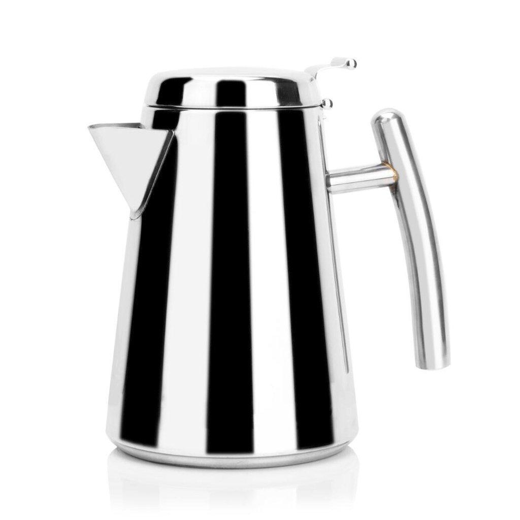 En forma de un calentador de agua fría de acero inoxidable Refrigerador cafetera tetera 1,7 l Hogar Cafetera olla de agua caliente del hogar: Amazon.es: ...