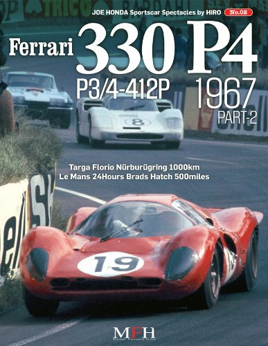 Ferrari 330p4 P3/4-412p 1967 Part 2 (Joe Honda Sportscar Spectacles By Hiro No.2) - Spectacles Models