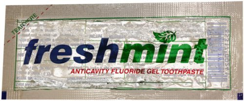 Wholesale Freshmint Clear Gel Toothpaste-packet 500 / CS(500x$0.12) by Feshmint