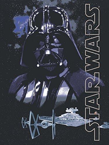 Star Wars Dark Lord Darth Vader Silk Touch Sherpa Throw Blanket by QL-044