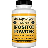 Healthy Origins Inositol Powder Non-GMO, 4 Ounce Review