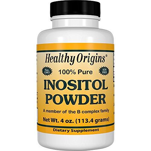 Healthy Origins Inositol Powder Non-GMO, 4 Ounce