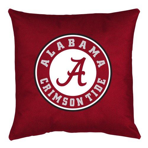 NCAA Alabama Crimson Tide Locker Room Pillow (Alabama Throw Pillow)