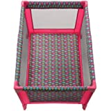 Babies R Us Cribs and Changing Tables Best Seller Play Yard | Cosco Funsport Play Yard | Folds Compactly into Included Carry Bag for Travel (Floral Pop)