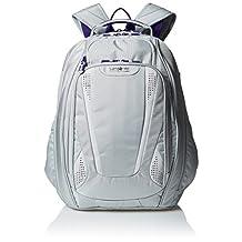 Samsonite Viz Air 2 Laptop Backpack, Silver/Purple/Yellow, International Carry-on
