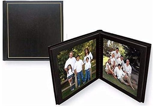 Amazon Com Tap Parade 8x10 Slip In Photo Album 10 Pages Black Gold Home Kitchen