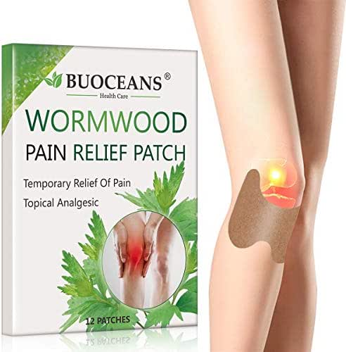 Pain Relieving Patch, Knee Pain Paste, Cervical Vertebra Pain Relief, Up to 24 Hours of Pain Relief, Promote Blood Circulation, Reduce Inflammation Self-Heating Sticker Cold Protection, 12 PCS