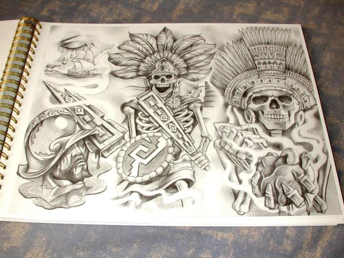 Chicano Gangster Tattoo Flash Tattoo Insider On Twitter Chicano