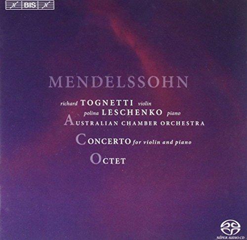 MENDELSSOHN / LESCHENKO / AUSTRIALIAN CHAMBER ORCH