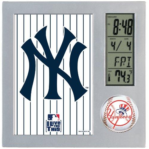 Mlb Alarm - WinCraft MLB New York Yankees Digital Desk Clock