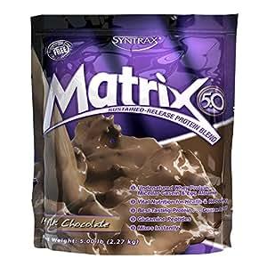 Syntrax Matrix 5, Milk Chocolate Powder, 5 Pounds